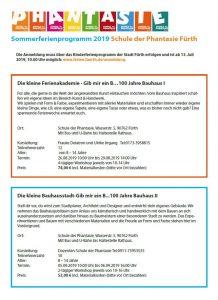 AKTUELL - Schule der Phantasie Fürth / Franken e V